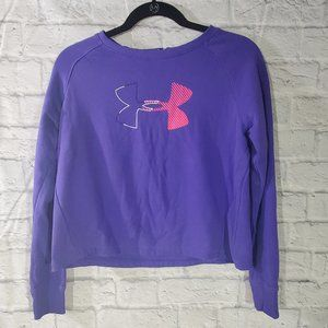 Under Armour Sweatshirt YXL Purple